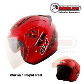 PROMO KEMERDEKAAN - GM INTERCEPTOR - SOLID - ROYAL RED