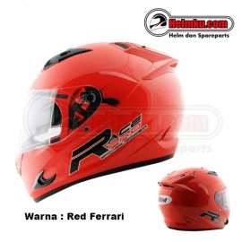 PROMO KEMERDEKAAN - GM RACE PRO 2 VISOR – SOLID - RED