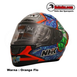 NHK GPRTECH KAREL ABRAHAM - ORANGE FLO /  BLUE