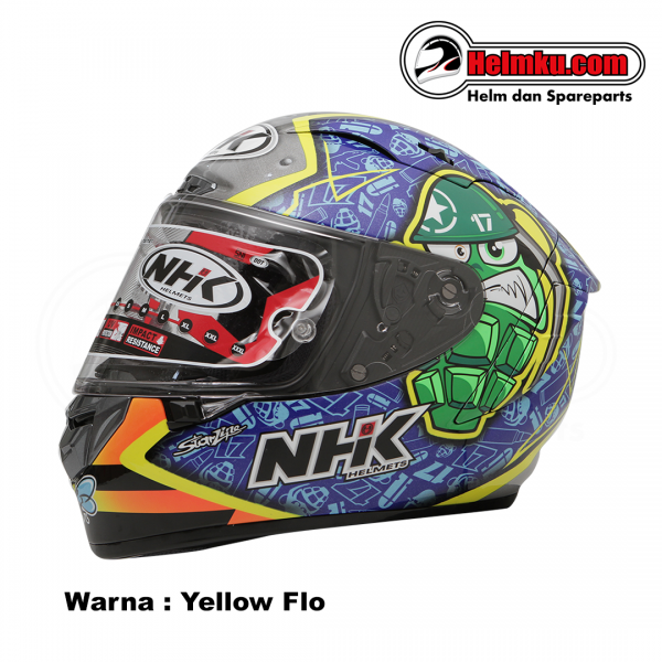 NHK GPRTECH KAREL ABRAHAM # 1 - YELLOW BLUE