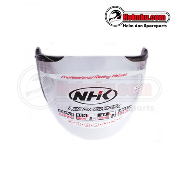 KACA HELM NHK NHK GLADIATOR SUPPORT BLACK - CLEAR