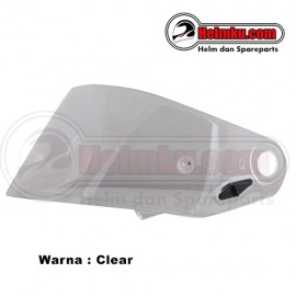 KACA HELM (FLAT VISOR) - NHK TERMINATOR RACING NEW - CLEAR